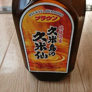 琉球泡盛 久米島の久米仙ブラウン(焼酎)