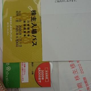読売ランド 100株株主取得分