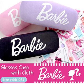 バービー(Barbie)のBarbie★バービー★クロス付きメガネケース新品PK(サングラス/メガネ)