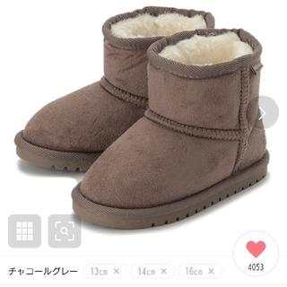 プティマイン(petit main)の【新品未使用】プティマイン♡フェイクムートンブーツ(ブーツ)