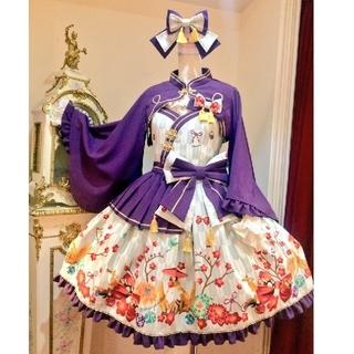 metamorphose temps de fille - 無地着物袖ボレロ 紫