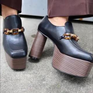 ムルーア(MURUA)のMURUA♡ チェーンプラットフォームローファー(ローファー/革靴)