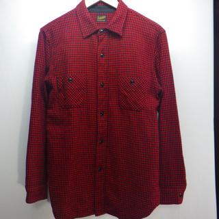 TENDERLOIN - TENDERLOIN テンダーロイン ウール長袖シャツ サイズS