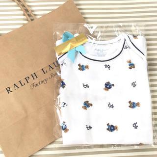 Ralph Lauren - ギフト‼︎ラルフローレン ロンパース 長袖 3m60センチ