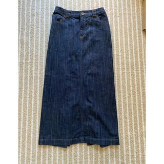 ジーナシス(JEANASIS)のジーナシス デニムロングスカート  フリーサイズ (ロングスカート)