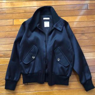 MADISONBLUE ジャケット ブルゾン ブラック silk cotton