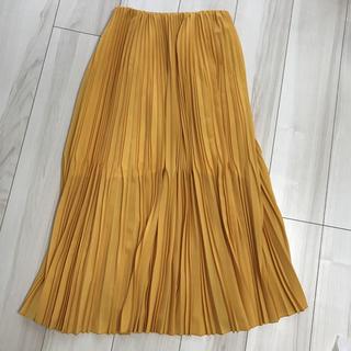 ユナイテッドアローズ(UNITED ARROWS)のASTRAET (アストラット) ロングプリーツスカート サイズ:0(ロングスカート)