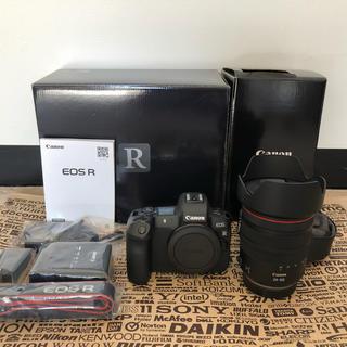 Canon - EOS Rカメラ本体RF24-105ミリF4レンズセット