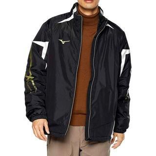 ミズノ(MIZUNO)のミズノ ブレスサーモ 中綿ジャケット Lサイズ ブラック ジャージウェア(トレーニング用品)