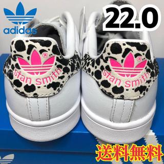 アディダス(adidas)の★新品★アディダス スタンスミス レオパード ヒョウ柄 22.0(スニーカー)
