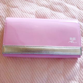 クレージュ(Courreges)のcourreges クレージュ 長財布(財布)