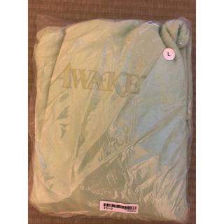 AWAKE - AWAKE NY Gel Classic Logo Hoodie Mint L