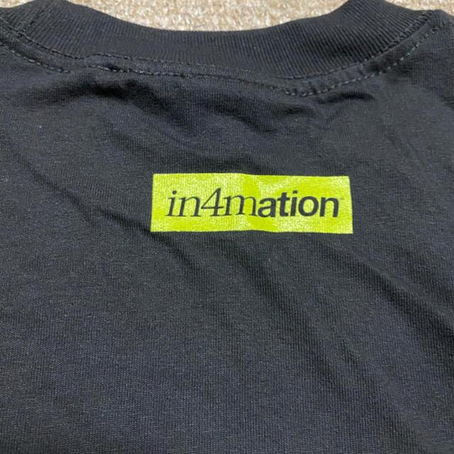 IN4MATION(インフォメーション)のin4mation Tee Ssize メンズのトップス(Tシャツ/カットソー(半袖/袖なし))の商品写真