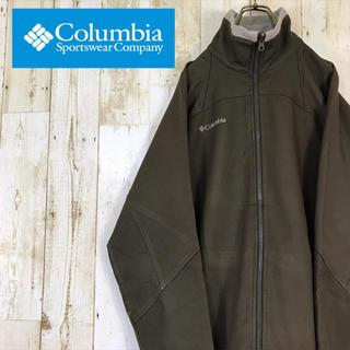 Columbia - Columbia コロンビア ソフトシェル ジャケット カーキ