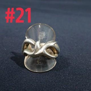 silver925 トライバル大ring#21(リング(指輪))