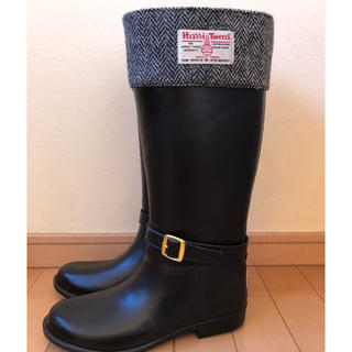 Harris Tweed - ハリスツイード長靴 レインブーツ