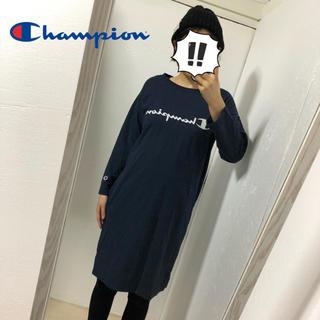 チャンピオン(Champion)の【champion】ブランドロゴ ワンピース(ひざ丈ワンピース)