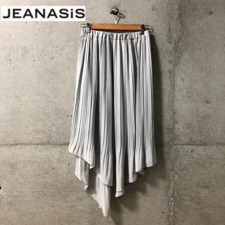 ジーナシス(JEANASIS)の【JEANASIS】変形シルエット プリーツロングスカート F(ロングスカート)