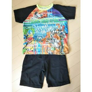 バンダイ(BANDAI)の仮面ライダーエグゼイド 光るパジャマ ねまき 半袖 短パン サイズ120(パジャマ)