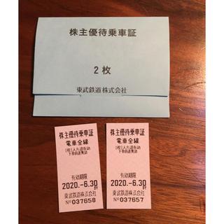 東武鉄道乗車券(鉄道乗車券)