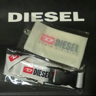 ディーゼル(DIESEL)のDIESEL  ネックストラップ&パスケース(パスケース/IDカードホルダー)
