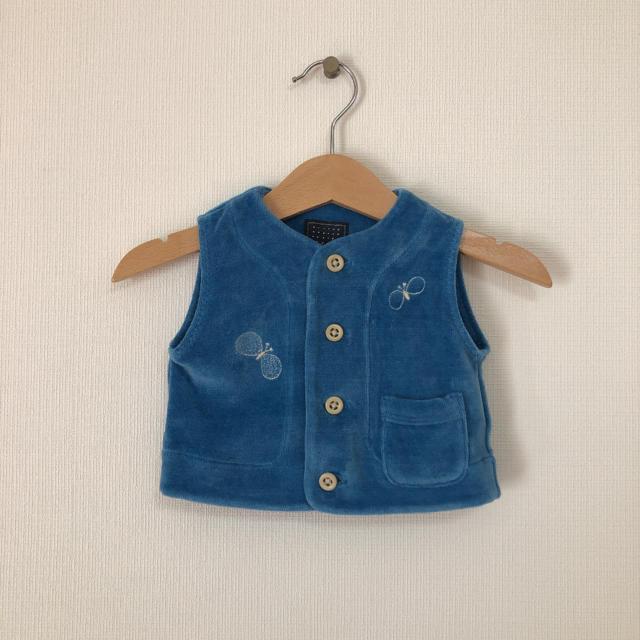 mina perhonen(ミナペルホネン)のミナペルホネン ベスト  キッズ/ベビー/マタニティのベビー服(~85cm)(ジャケット/コート)の商品写真