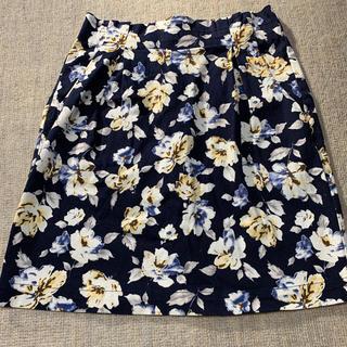 ローリーズファーム(LOWRYS FARM)のmicoa(LOWRYS FARM) 花柄タイトスカート(ミニスカート)