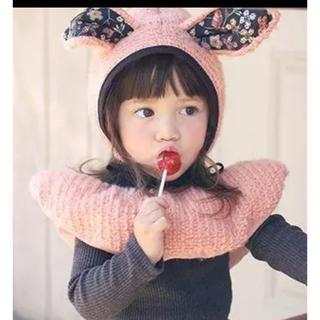 アニカ(annika)のannika 帽子 マフラー セット 100 110 120(帽子)