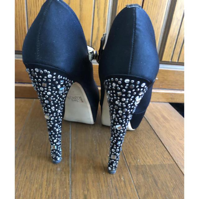 ESPERANZA(エスペランサ)のエスペランサ ビジューパンプス 22.5 レディースの靴/シューズ(ハイヒール/パンプス)の商品写真