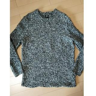 エイチアンドエム(H&M)のH&M メンズ ニット セーター 長袖 冬服 サイズM(ニット/セーター)