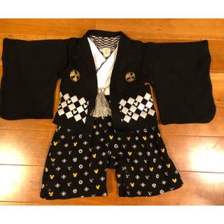 ディズニー(Disney)の袴ロンパース ディズニー(和服/着物)