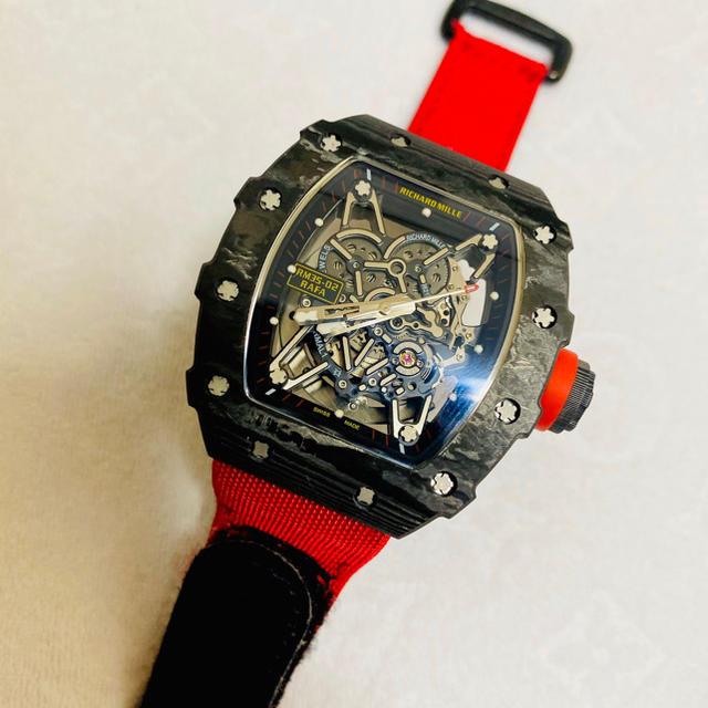 gaga 時計 スーパーコピー2ちゃんねる 、 腕時計 リシャールミルの通販 by いるくん's shop