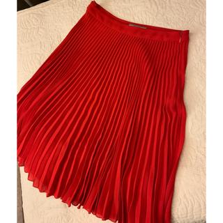プラダ(PRADA)のPRADAプリーツスカート(ひざ丈スカート)