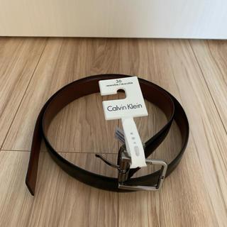 カルバンクライン(Calvin Klein)のカルバン・クライン 革ベルト(ベルト)