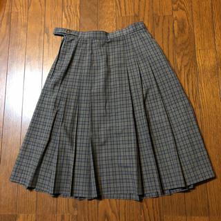EASTBOY - チェック プリーツ スカート