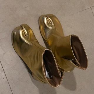 マルタンマルジェラ(Maison Martin Margiela)のmaison margielaメゾンマルジェラの足袋ブーツ36新品未使用(ブーツ)