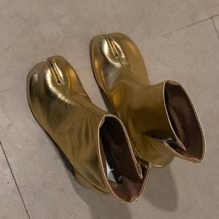 マルタンマルジェラ(Maison Martin Margiela)の最終値引maison margielaメゾンマルジェラの足袋ブーツ36新品未使用(ブーツ)