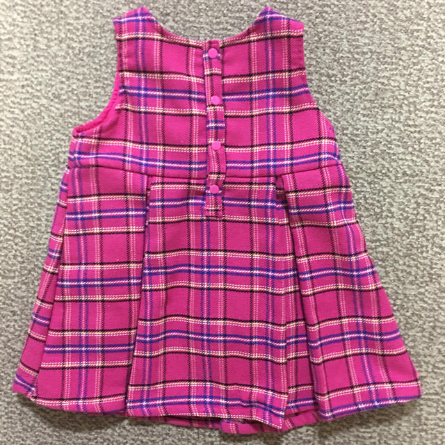 Barbie(バービー)の新品 バービー  ワンピース ジャンパースカート 95センチ キッズ/ベビー/マタニティのキッズ服女の子用(90cm~)(ワンピース)の商品写真