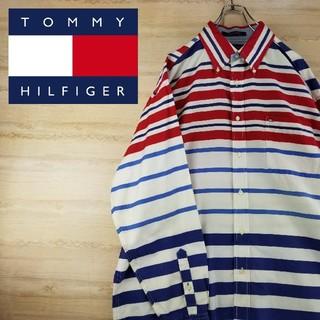 トミーヒルフィガー(TOMMY HILFIGER)のトミーヒルフィガー マルチボーダー ボタンダウンシャツ(シャツ)