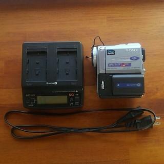 SONY - 【希少】SONY DCR-PC9 充電器セット【miniDV】