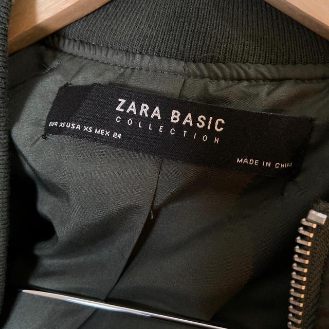 ZARA(ザラ)の美品★ZARA★ミリタリージャケット レディースのジャケット/アウター(ミリタリージャケット)の商品写真
