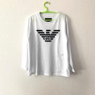 エンポリオアルマーニ(Emporio Armani)の新品 アルマーニ 5A112 長袖Tシャツ ホワイト(Tシャツ/カットソー)