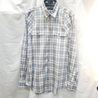 ドルチェアンドガッバーナ(DOLCE&GABBANA)のドルチェ&ガッバーナ D&G ブルー系チェック シャツ 40サイズ(シャツ)