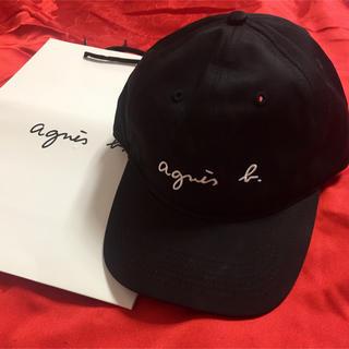 アニエスベー(agnes b.)のagnes b.アニエス・ベー 帽子(キャップ)