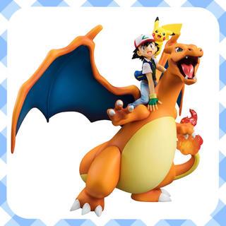 メガハウス(MegaHouse)のサトシ & ピカチュウ & リザードン フィギュア ☆ G.E.M.シリーズ(キャラクターグッズ)
