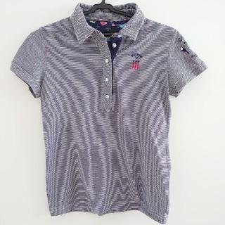 キャロウェイゴルフ(Callaway Golf)のcallaway ゴルフ ポロシャツ ボーダー ネイビー(ポロシャツ)