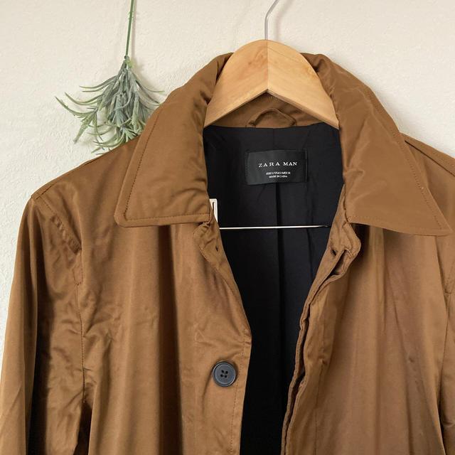 ZARA(ザラ)のZARA MAN★美品★コート メンズのジャケット/アウター(チェスターコート)の商品写真
