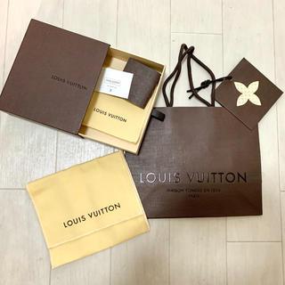 ルイヴィトン(LOUIS VUITTON)のLOUIS VUITTON  ショップ袋 箱 クロス メッセージカード 付属品(ショップ袋)