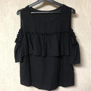 ダブルクローゼット(w closet)の肩出しトップス(シャツ/ブラウス(半袖/袖なし))