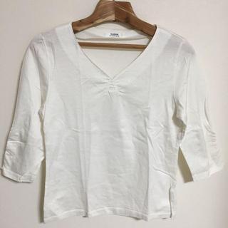 NEWYORKER - DAIDOH  カットソー ホワイトTシャツ カットソー Vネック 日本製